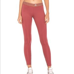 Adidas Stella McCartney run Leo tight rose